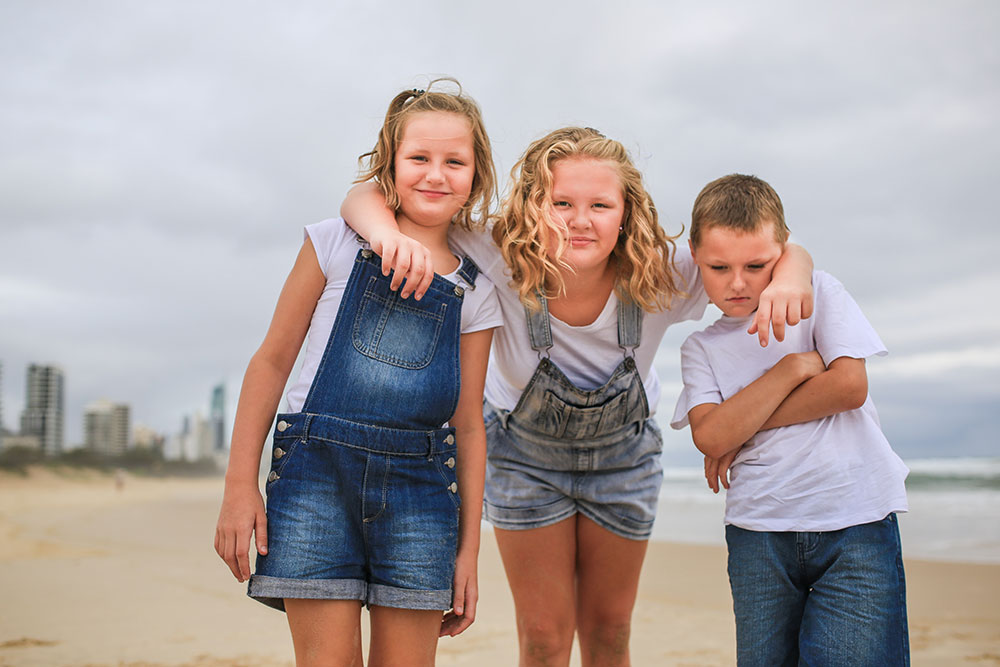 Family Photography | Beach Photo Shoot Gold Coast
