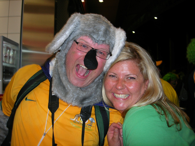Rachel-gold-coast-family-photographer-in-sturgart-Germany-with-man-dressed-as-koala