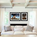 lounge room setting displaying portrait photography